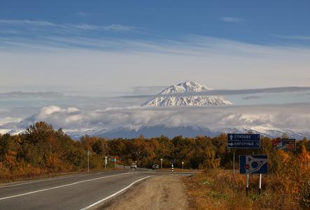 Дорога к Петропавловску