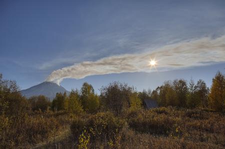 Действующий вулкан