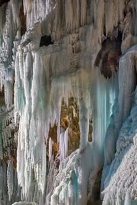 Чегемский водопад днем