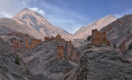 Старый город в горах